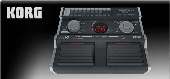 KORG AX3G | Multi Effects Processor