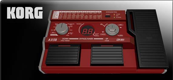 AX3B | Multieffektprozessor für E-Bass