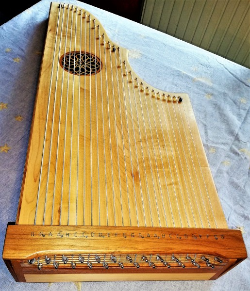 Bass Harfe; Tisch Harfe; Bassharfe; Tischharfe;