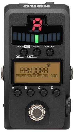 PANDORA STOMP | Multi-Effekt/Modeling und Tuner-Pedal